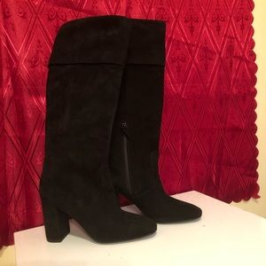 Cole Haan brand new suede boots